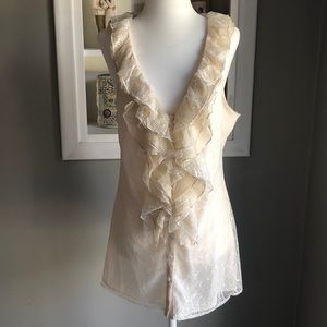 NWT MM Couture Lace Blouse
